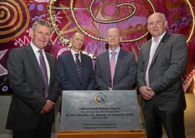 Ted Owens, John Fitzgibbons, Pat McKelvey & Ronan McCarthy