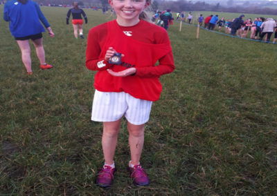 Lydia Walshe Cork country medal in XC