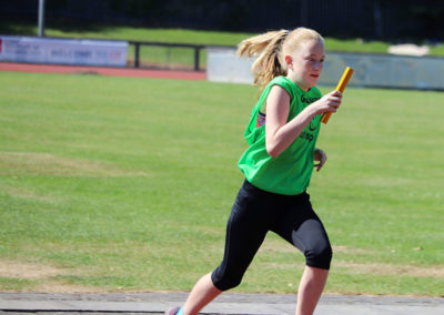 Megan Murphy representing Glanmire in Cork Community Games
