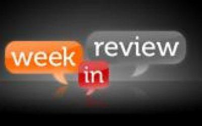 Review of the Week Mon 12 Nov to Fri 16 Nov 2018