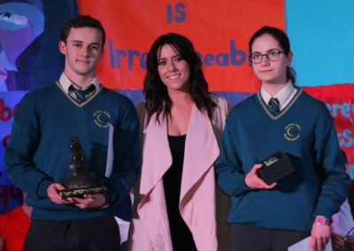 9. Gradam Boole - Caolan Maher and Eva Coy with special guest Stephanie Rainey