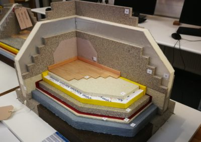 Scale-model-of-Passive-House-building-detail