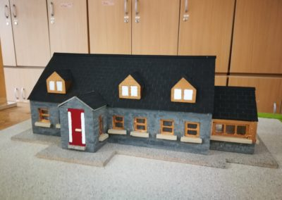 Scale model of student home