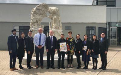 Singapore Delegation of School Leaders Visits GCC