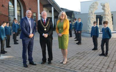 Lord Mayor visits our School