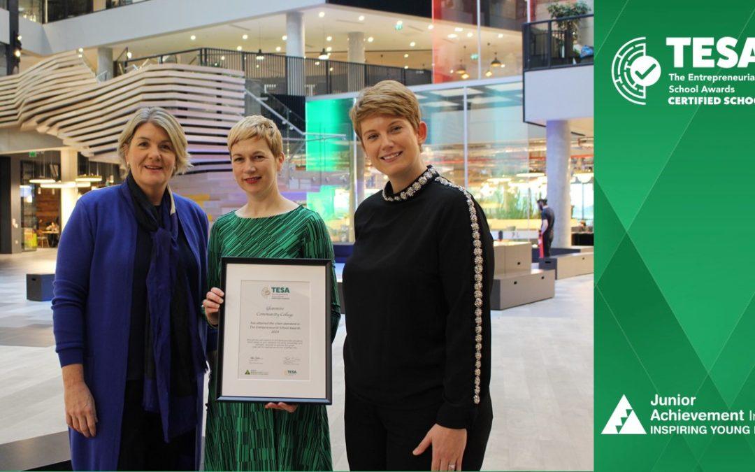 GCC Awarded Silver Entrepreneurial Certificate