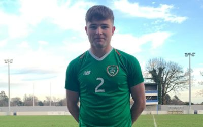 Leaving Cert Student Rob Walsh Represents Ireland U18