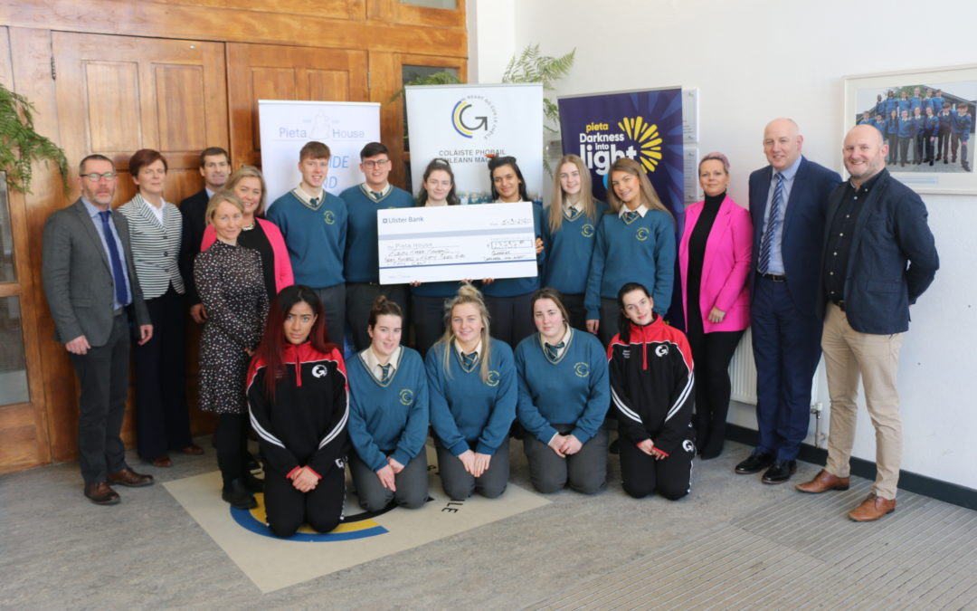 €23,737 raised by GCC & Glanmire Chamber of Commerce DIL 2019 for Pieta House