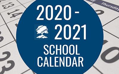 GCC School Calendar 2020/21