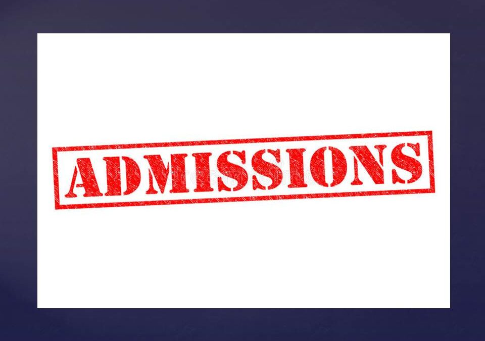 Glanmire Community College Admissions Notice 28 September 2020