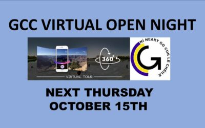 GCC Virtual Open Night