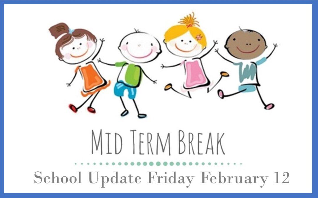 Latest School Update Friday February 12