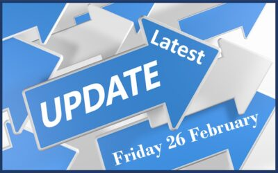 Latest School Update Friday February 26