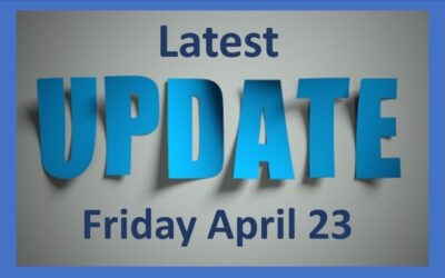 Latest School Update Friday 23 April 2021