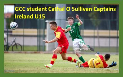 GCC Student Captains Ireland to victory over Montenegro