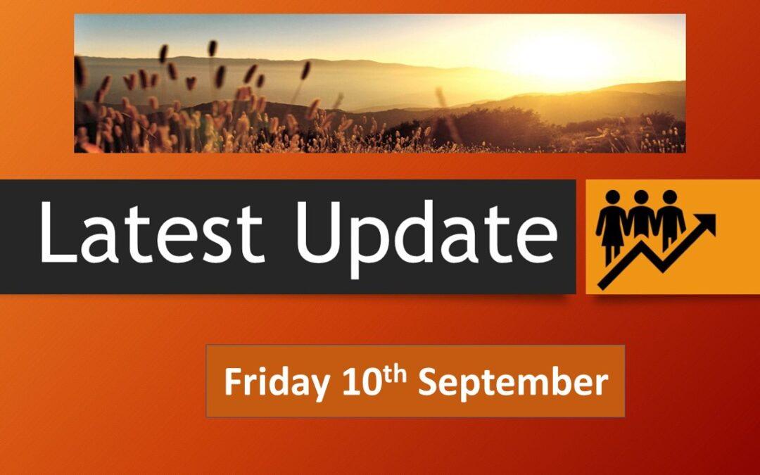 Latest School Update Friday 10 September 2021